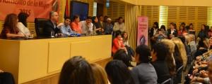 """Parlamento de la Mujer: """"Hay que visibilizar a las mujeres invisibles"""", dijo Passalacqua"""