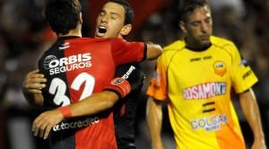 Crucero luchó pero se encontró con un Maxi Rodríguez intratable y perdió 2 a 0 en el Parque Independencia