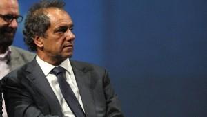 """Scioli: """"Los hechos políticos y personales me llenan de optimismo"""""""