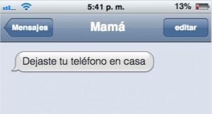 Insólitos mensajes de padres que no saben usar el celular, a sus hijos