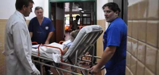 Llegó a Posadas Thiago, el niño que cayó de un balcón en Brasil