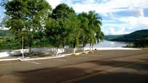 Vialidad Provincial reparó un mirador ubicado en la ruta Costera 2