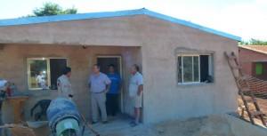Wanda: Entregaron viviendas progresivas y continúan las obras para otras familias