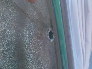 Una mujer recibió un piedrazo cuando viajaba en colectivo desde Garupá a Candelaria