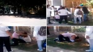 Otra vez, una pelea brutal entre adolescentes a la salida de una escuela