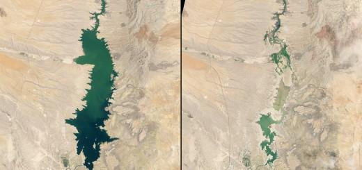 Las fotos de la NASA que muestran los efectos del cambio climático