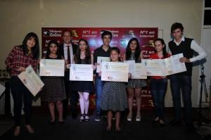 Misiones Online entregó en su 15º Aniversario premios y becas a estudiantes  Mejores Promedios  de la provincia y el del país