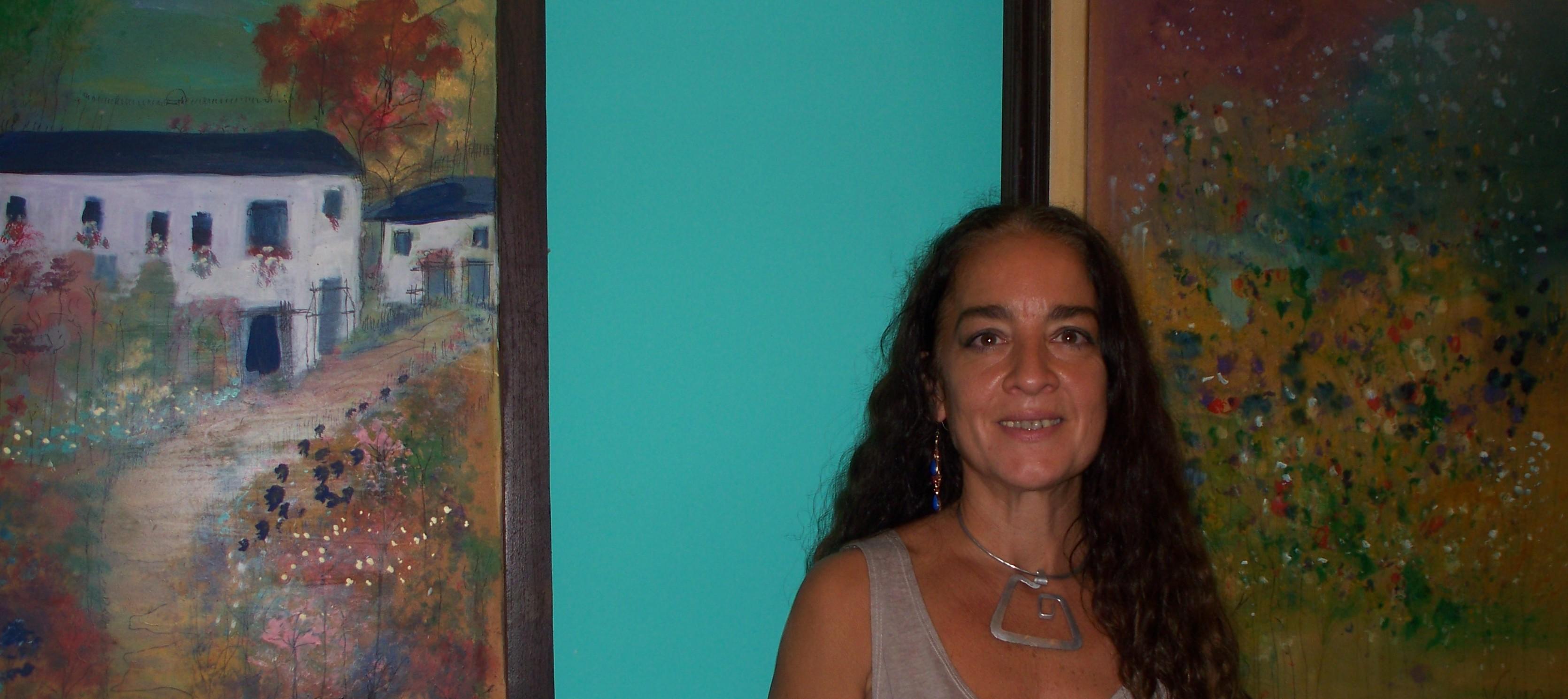 """""""Llegando a creer"""", Valentina Ortiz exhibe más de 70 cuadros en el museo Yaparí"""