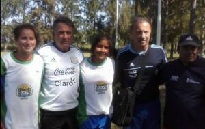 Cuatro chicas de Huracán fueron preseleccionadas por el Vasco Olarticoechea para la Selección Femenina en sub 17 y sub 21