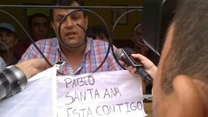 Pablo Castro sigue atrincherado y Santa Ana vuelve a tener dos intendentes
