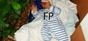 Se recupera y crece el bebé encontrado en la esquina de San Martín y Tres de Febrero