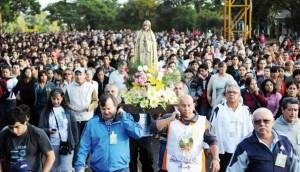 Este viernes se inicia la Novena a la Virgen de Fátima y la peregrinación será el 10 de mayo