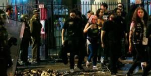 Son tres los muertos por un derrumbe en una disco durante un concierto en Chile