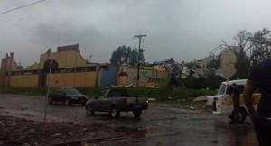 Un tornado en Brasil causó graves daños y un muerto a 180 kilómetros de Misiones