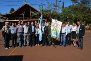 Montecarlo homenajeó a los héroes de Malvinas