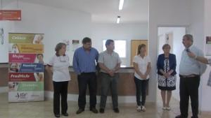 IPS Inauguró boca de expendio y Plaza Saludable en Ameghino