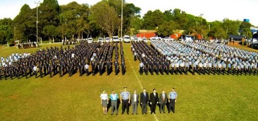 Se sumaron mil efectivos a las fuerzas de seguridad