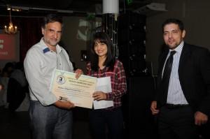 """Ganadora del """"Concurso Mejor Promedio"""" de Misiones Online, en Universidades de Misiones: Abigail Servián"""