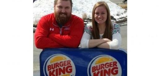 Se casan Burger y King y ya te imaginás quien va a pagar la boda