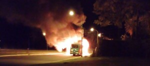 Atentado incendiario: la empresa damnificada denunció que el 16 de abril había sufrido dos ataques menores