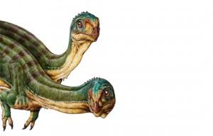 Ilustración del Chilesaurio diegosuarezi. Gentileza: Gabriel Lío.