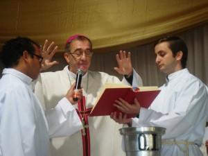 En la Misa Crismal el Obispo agradeció por el sacerdocio y alertó sobre el peligro de caer en la soberbia