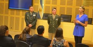 "Se concretó ayer en la Legislatura la charla ""Malvinas, Historias de Soldados"""