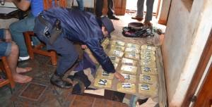 Oberá: buscaban una moto robada y se encontraron con 19 kilos de marihuana