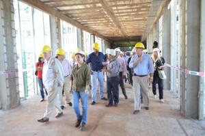 La construcción del nuevo hospital de Oberá tiene un 70% de avance de la primera etapa