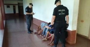 Posadas: cuatro detenidos por ocasionar disturbios y atemorizar a vecinos del A-4