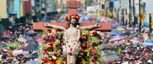En Ecuador, la Procesión del Cristo del Consuelo es la más grande manifestación que realizan los católicos