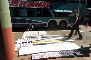 La AFIP secuestró celulares de última generación valuados en 2 millones de pesos en Iguazú