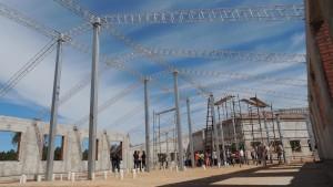 Las obras del Hospital de Panambí presentan un 35% de avance