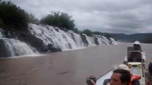 Unos 2500 turistas visitaron los Saltos del Moconá en Semana Santa