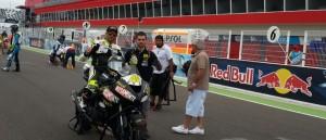 """Moto GP: El misionero Adrián Silveira salió 8° en la Copa Argentina, que fue """"telonera"""" en Termas de Río Hondo"""