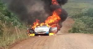 ¿Y la solidaridad del rally? Se le incendió el auto pero lo que más le duele es que nadie paró a ayudar