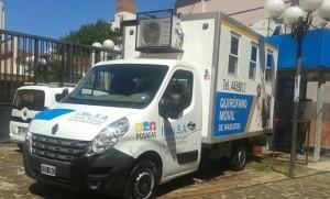 La ciudad de Posadas cuenta con un quirófano móvil para la atención de animales