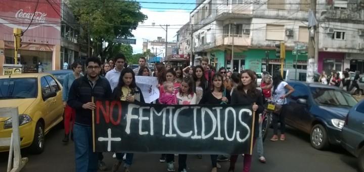 Marcharon por las calles de Posadas para pedir justicia por el crimen de Lucía Maidana