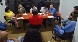 LOCUTAR se reunió con Arami y locutores que son amenazados e injuriados por la SAL