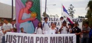 En Piray volvieron a marchar para pedir el esclarecimiento del crimen de Miriam Cuba