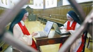 La web llegó a los conventos y a la vida de claustro