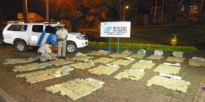 Secuestran más de una tonelada de marihuana en dos procedimientos en Misiones