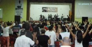"""Multitudinario """"Tributo a Jesús"""" en Eldorado"""