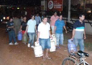 En Puerto Iguazú piden hasta 300 pesos por una garrafa de 10 kilos