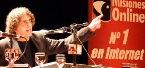 Escuchá el programa que hizo anoche Alejandro Dolina en Posadas y escuchó todo el país por Radio del Plata