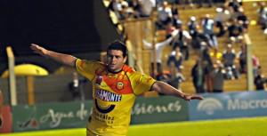 Pinti volvió al gol, pero a Crucero no le alcanzó y empató 1 a 1 con Rafaela