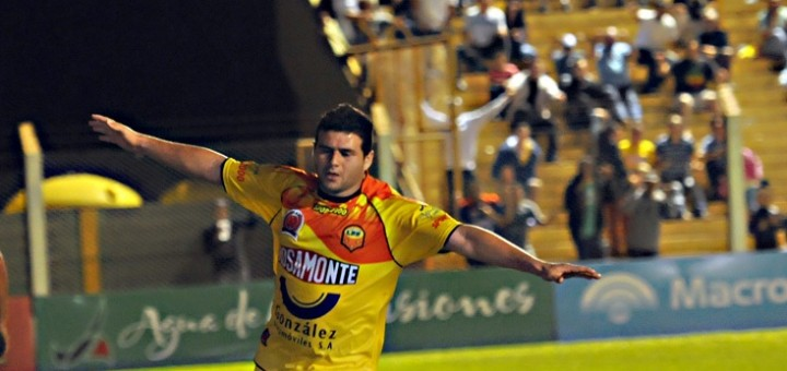 Por fin volvió Pinti al gol, pero a Crucero no le alcanzó y empató 1 a 1 con Atlético Rafaela