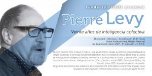 """La Fundación OSDE invita a la conferencia """"Veinte años de inteligencia colectiva"""", del filósofo Pierre Levy"""