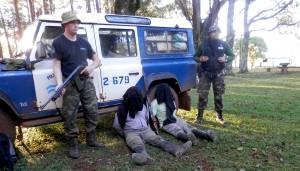 Tras varios operativos de control ambiental quedan detenidas 10 personas en Piñalito Sur por caza furtiva