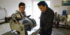 Trabajan para fortalecer la producción lechera en Leandro N Alem